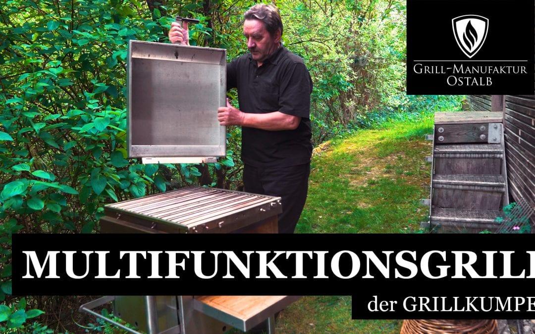 """Der Multifunktionsgrill """"GRILLKUMPEL"""""""